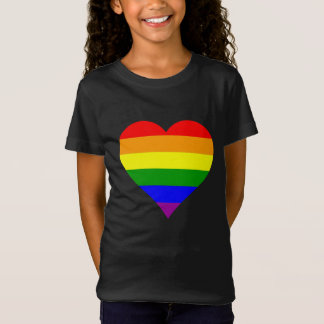 Young rower Most gay Flag Heart T-Shirt