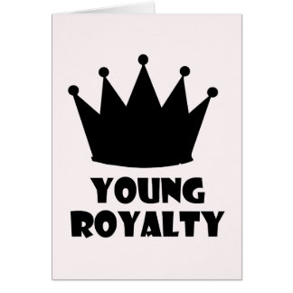 Young Royalty 5 Star Crown Collection Card
