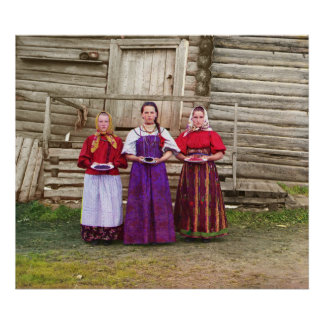 Young Russian Women - Photo Poster