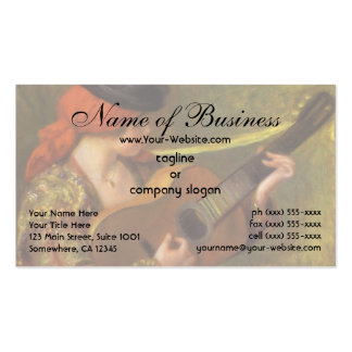 Young Spanish Woman by Pierre Auguste Renoir Pack Of Standard Business Cards