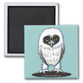 Young Spectacled Owl Magnet