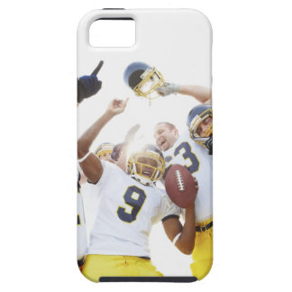 Young sportsmen playing rugby iPhone 5 cases