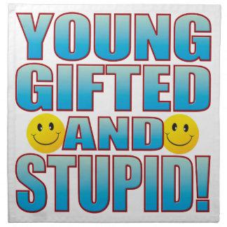 Young Stupid Life B Cloth Napkins
