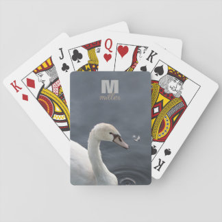 Young Swan & Feather Playing Cards