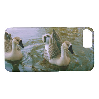 Young swans iPhone 7 case