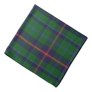 Young Tartan Plaid Bandana
