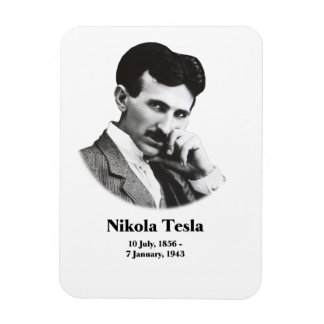 Young Tesla Rectangle Magnet