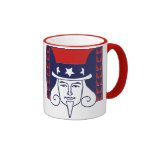 Young Uncle Sam Coffee Mug