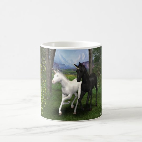Young Unicorns Magic Mug
