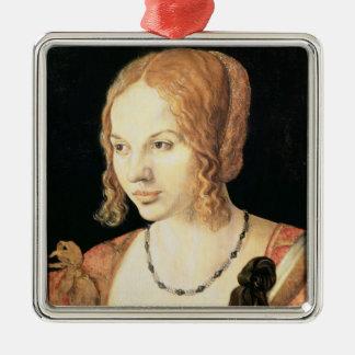 Young Venetian Woman Christmas Ornament
