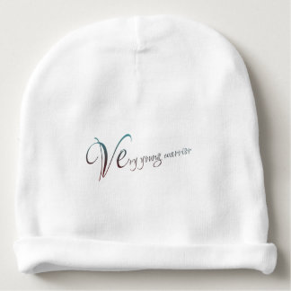 young warrior baby beanie