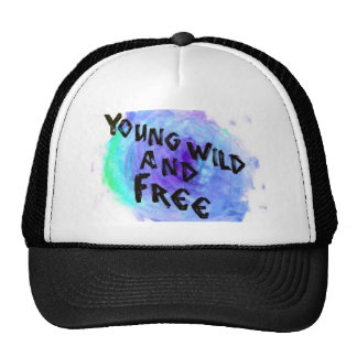 Young Wild and Free Snapback Mesh Hat