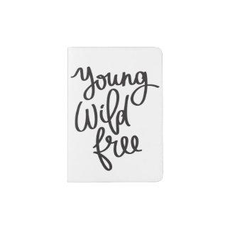 """Young, Wild, & Free"" Passport Holder"