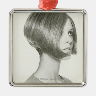 Young Woman 2 Christmas Ornament