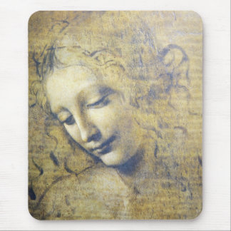 young woman 2 mouse pad