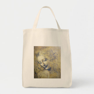 young woman 2 tote bag