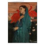 Young Woman and Ibis, Edgar Degas