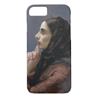 Young Woman at Prayer, 1879 (oil on canvas) iPhone 8/7 Case
