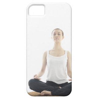 young woman beauty,yoga iPhone 5 cases
