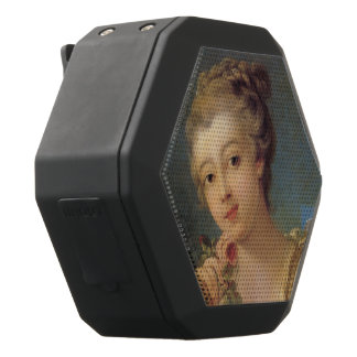 Young Woman Bouquet of Roses by Francois Boucher Black Boombot Rex Bluetooth Speaker