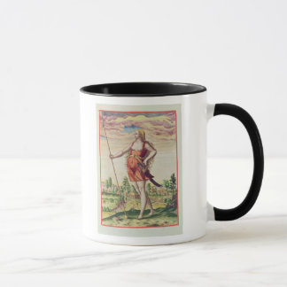 Young Woman from a Neighbouring Tribe to the Mug