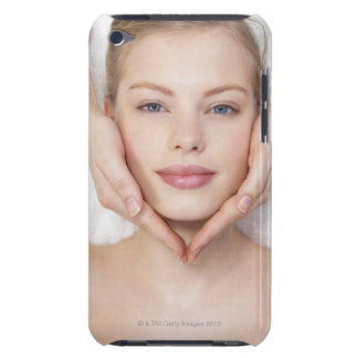 Young woman getting massage iPod touch covers
