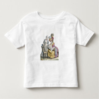 Young Woman in a Dress 'a la Levite' Breastfeeding