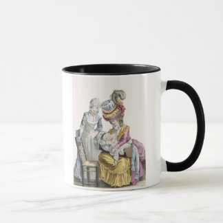 Young Woman in a Dress 'a la Levite' Breastfeeding Mug