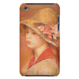 Young Woman in a Hat (oil on canvas) iPod Touch Cover