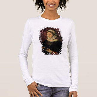 Young Woman Reading a Book of Hours (oil on panel) Long Sleeve T-Shirt