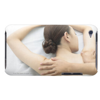 young woman receiving massage,woman in health 2 barely there iPod case