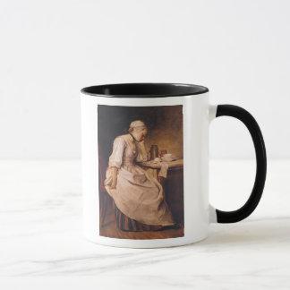 Young Woman Sleeping Mug