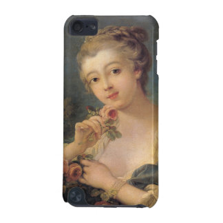 Young Woman with a Bouquet of Roses by Francois Bo iPod Touch 5G Cover