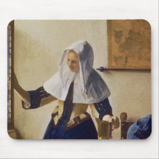 Young Woman with a Water Jug, c.1662 Mouse Pad