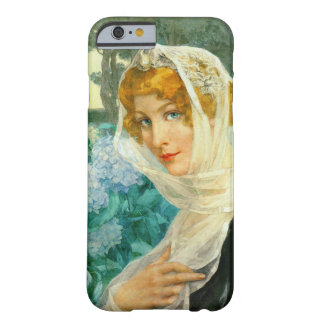 Young Woman with Hydrangeas 1900 Barely There iPhone 6 Case