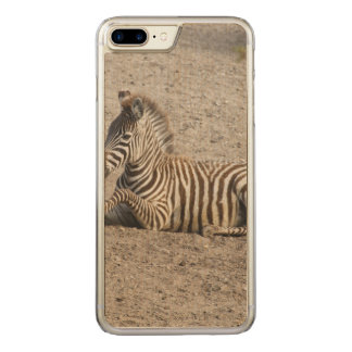 Young zebra 1215A Carved iPhone 8 Plus/7 Plus Case