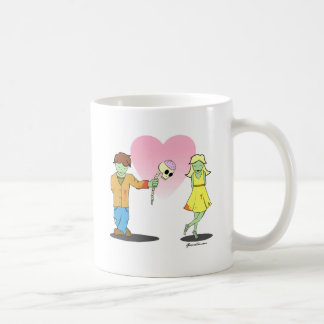 Young Zombie Love Coffee Mugs