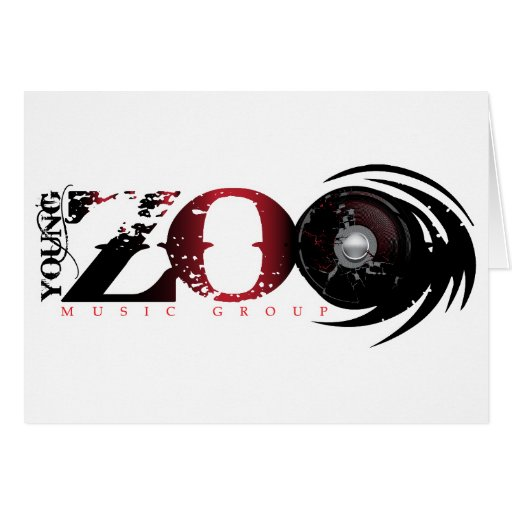 Young Zoo Music Group Greeting Cards
