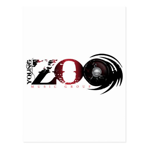 Young Zoo Music Group Postcard