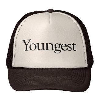 Youngest Cap