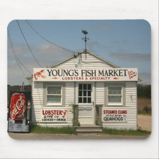 Young's Fish Market Mousepad