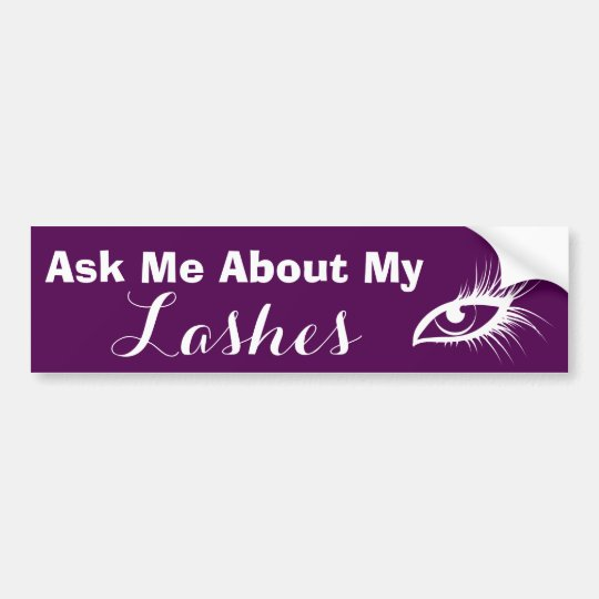 Younique Presenter Bumper Sticker Lashes Mascara