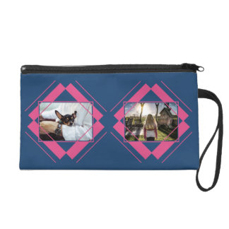 YOUR 4 PHOTOS in Geometric Pattern accessory bags