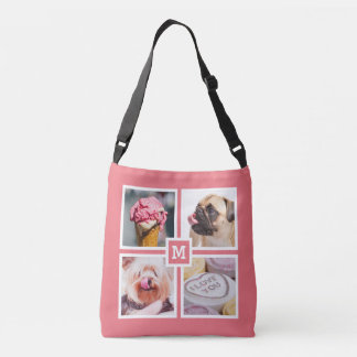 YOUR 8 PHOTOS & MONOGRAM bags Tote Bag