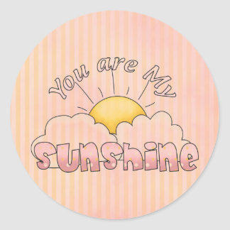 Your are My Sunshine Fun Stickers