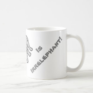 Your Argument is Irrelephant - Funny Basic White Mug