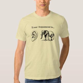 Your Argument is Irrelephant Shirt