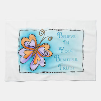 Your Beautiful Truth Tea Towel