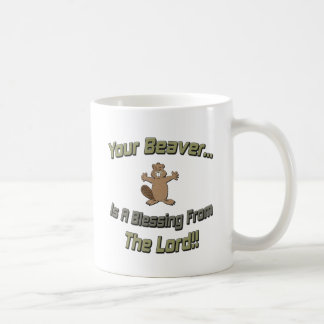 Your Beaver Blessing From Lord Coffee Mug