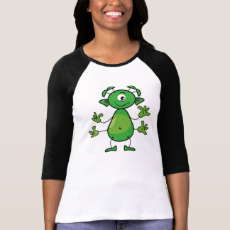 Your Bella with the funny extraterrestrial T-Shirt